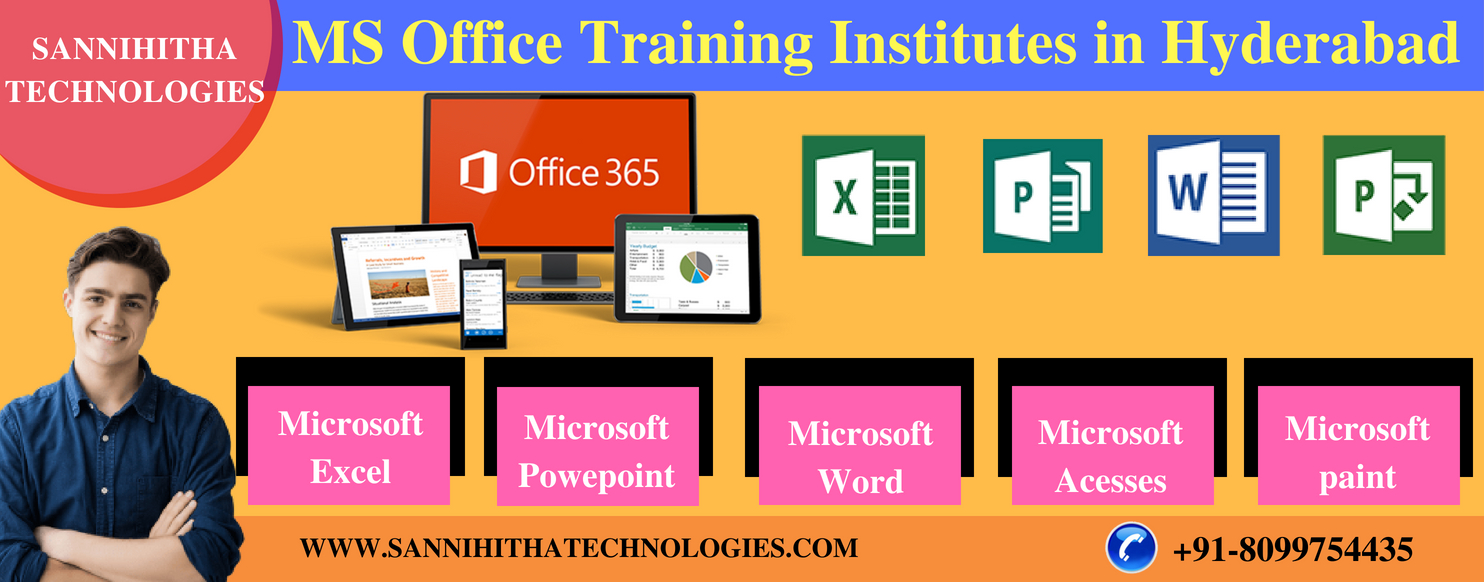MS Office Training Institutes in Hyderabad