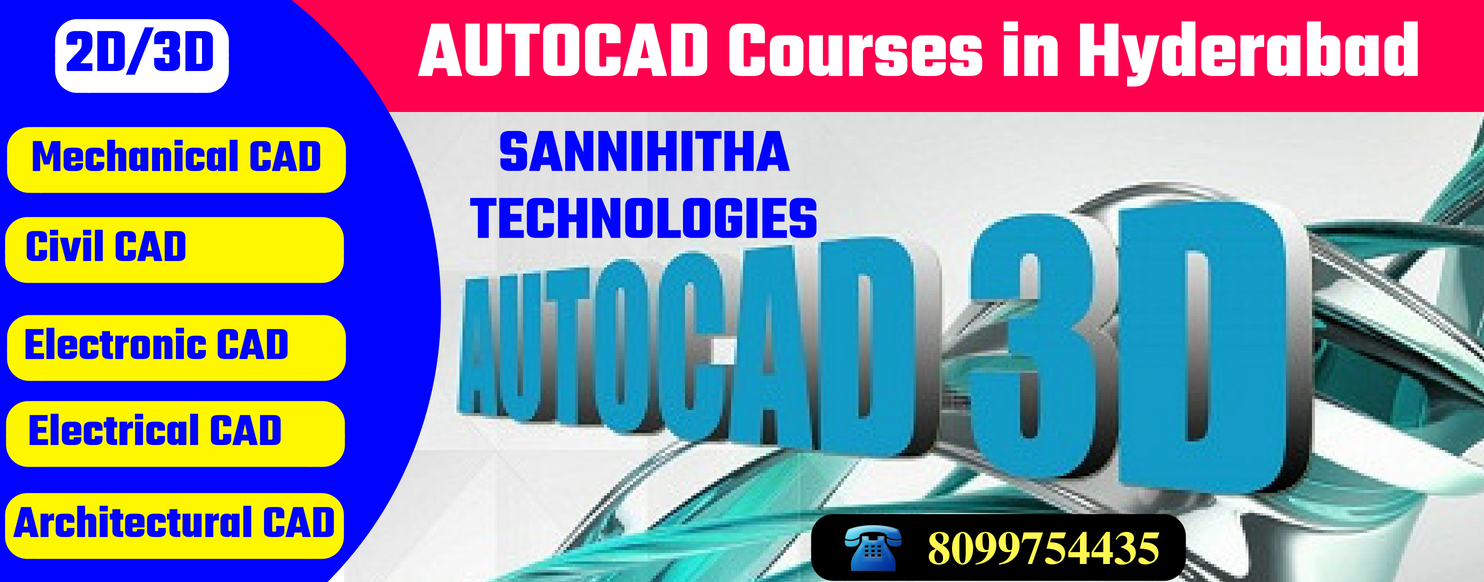 AutoCAD Courses in Hyderabad