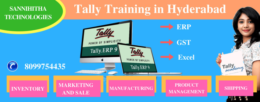 Tally Course in Hyderabad with placments